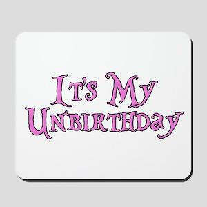It's My Unbirthday Alice in Wonderland Mousepad