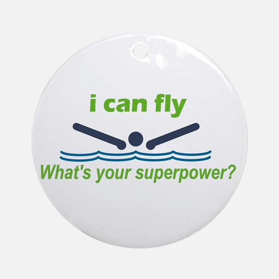 I Can Fly Ornament (Round)