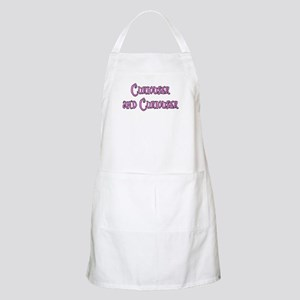 Curiouser and Curiouser Alice Apron
