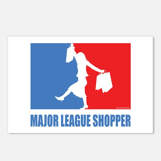 ML Shopper Postcards (Package of 8)