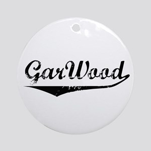 Vintage GarWood Boats Ornament (Round)