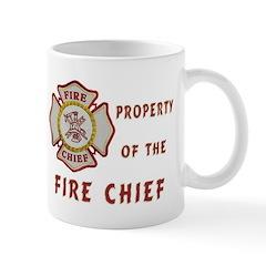 Fire Chief Property Mug