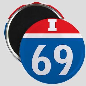 Interstate 69 I-69 Magnet