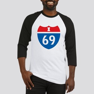 Interstate 69 I-69 Baseball Jersey