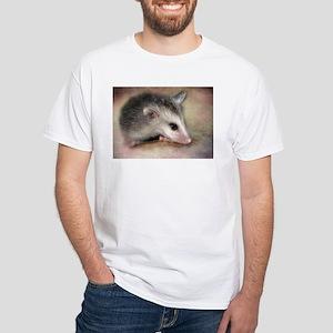 Possum Love White T-Shirt