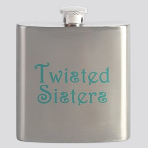 Twisted Sisters Flask