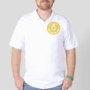 TXyellowseal Golf Shirt