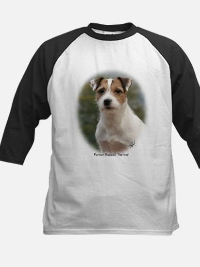 Parson Russell Terrier Kids Baseball Jersey
