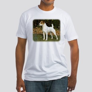 Parson Russell Terrier 9T016D-205 Fitted T-Shirt