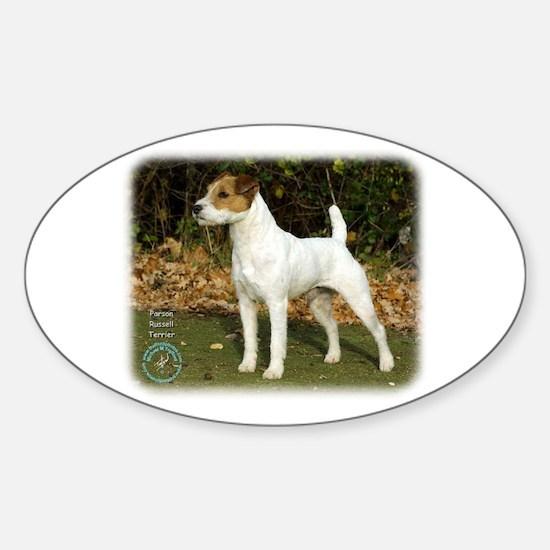 Parson Russell Terrier 9T016D-205 Sticker (Oval)