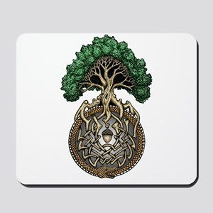 Ouroboros Tree Mousepad