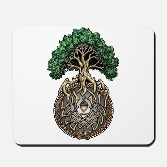 Ouroboros Tree Mousepad