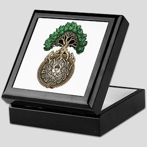 Ouroboros Tree Keepsake Box