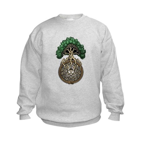 Ouroboros Tree Kids Sweatshirt