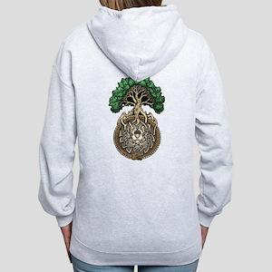Ouroboros Tree Women's Zip Hoodie