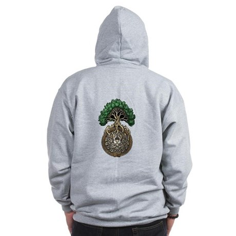 Ouroboros Tree Zip Hoodie