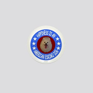 American Eskimo Dog Mini Button
