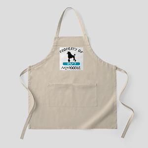 Poodle Standard BBQ Apron
