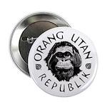 """Orang Utan Republik"" Logo Button"