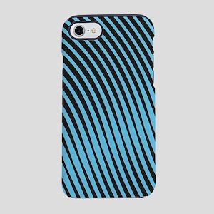 Warped Lines iPhone 7 Tough Case