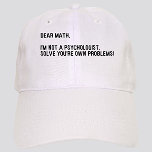 Dear Math Solve Your Own Prob Cap