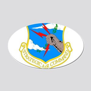 USAF SAC 22x14 Oval Wall Peel