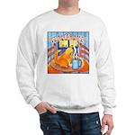 Tea for Me (Cat) Watercolor Sweatshirt