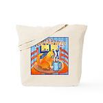 Tea for Me (Cat) Watercolor Tote Bag