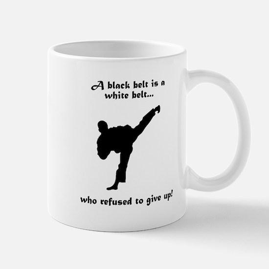 Black Belt Refusal Mug