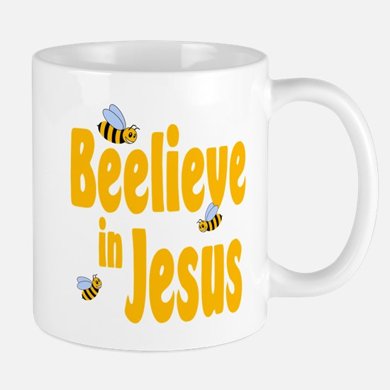Beelieve in Jesus Mug