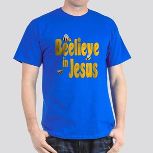Beelieve in Jesus Dark T-Shirt