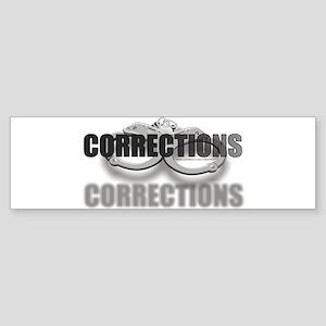 CORRECTIONS Bumper Sticker