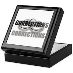 CORRECTIONS Keepsake Box