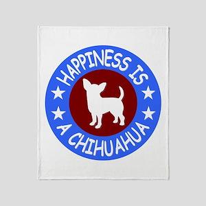 Chihuahua Throw Blanket