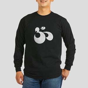OM Symbol Long Sleeve Dark T-Shirt