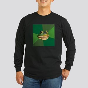 Bachelor Frog Long Sleeve Dark T-Shirt