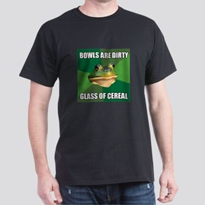 Glass of Cereal Dark T-Shirt