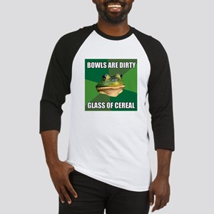 Glass of Cereal Baseball Jersey