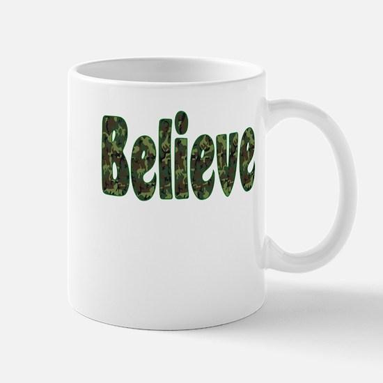Camoflauge Believe Mug