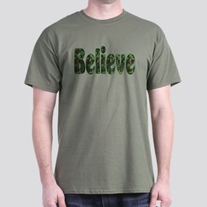 Camoflauge Believe Dark T-Shirt