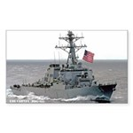 USS CARNEY Sticker (Rectangle)