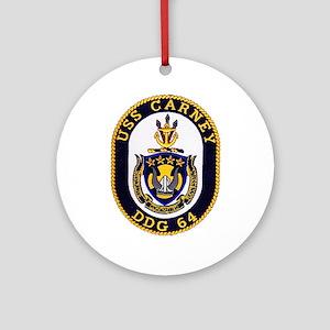 USS CARNEY Ornament (Round)