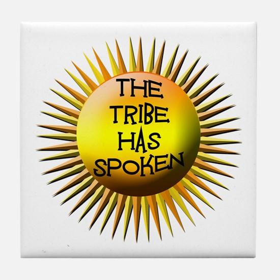 The Tribe Has Spoken! Tile Coaster