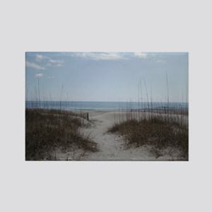 To the Beach Rectangle Magnet