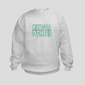 Minnesota Ovarian Cancer Fighter Kids Sweatshirt