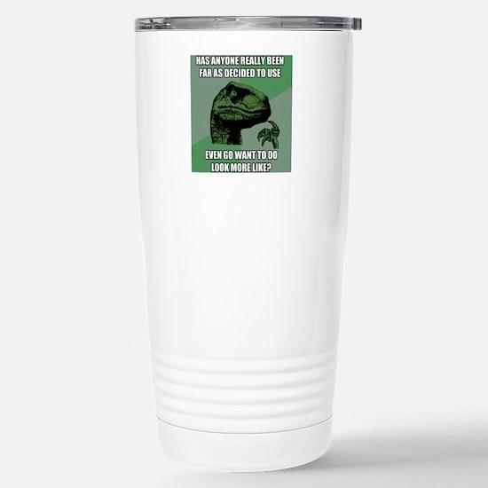 Nonsense Stainless Steel Travel Mug