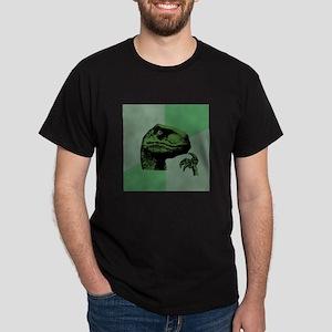 Blank Philosoraptor Dark T-Shirt