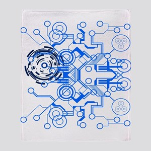 Circuitboard Throw Blanket