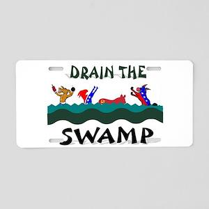 SWAMP Aluminum License Plate