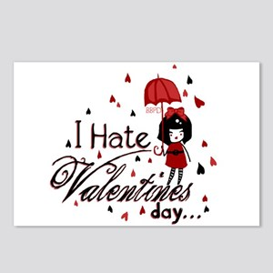 I Hate Valentine's Postcards (Package of 8)